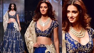 Beautiful Disha Patani WALKS The Ramp At Lakme Fashion Week 2017 Grand Finale