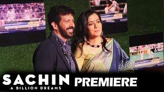 Kabir Khan With Wife Mini Mathur At Sachin A Billion Dreams GRAND PREMIERE