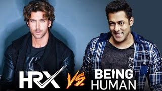 Hrithik Roshan's HRX V/s Salman Khan's Being Human - Know The Difference