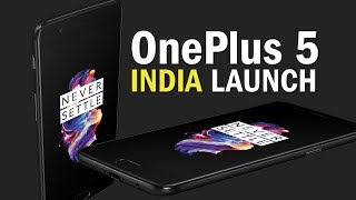 OnePlus 5 launched in India, price starts at Rs 32,999   Mumbai Launch Highlights