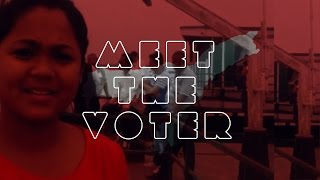 Meet the First time voter