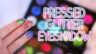 DIY | How To Make - Pressed Glitter Eye Shadow | DEMO | How to use Glitter Eye-Shadows | JSuper Kaur