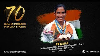 PT Usha Seoul Asian Games 1986 - 5 medals | Asian Games 1982 - Silver | Los Angeles Olympics 1984
