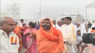 TTD Temple Lands To Be Save From Land Mafai | Paripoornananda Saraswati In Tirumala iNews