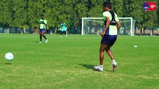 Delhi Dynamos F.C. training Session