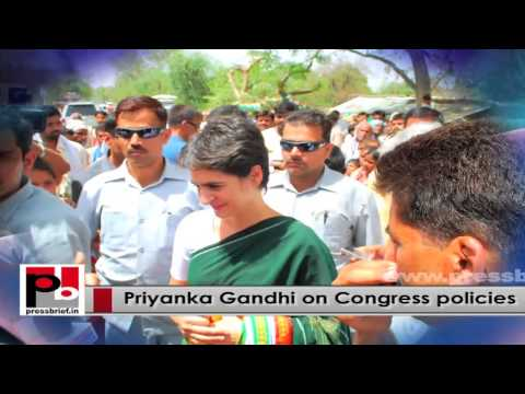 Priyanka Gandhi Vadra - a great leader who has a special ability to connect with masses