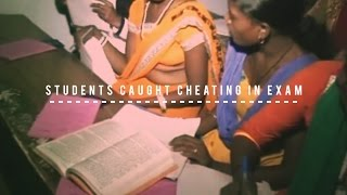 Students of Dhanbad college caught cheating in exam
