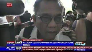 M. Taufik Bungkam Usai Diperiksa 8 Jam oleh KPK