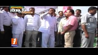 Congress Leaders Fires on KCR Over New Secretariat | Jabardasth | iNews