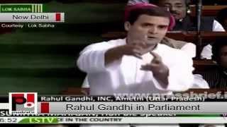 Congress Vice President Rahul Gandhi speech at Parliament Politics Video