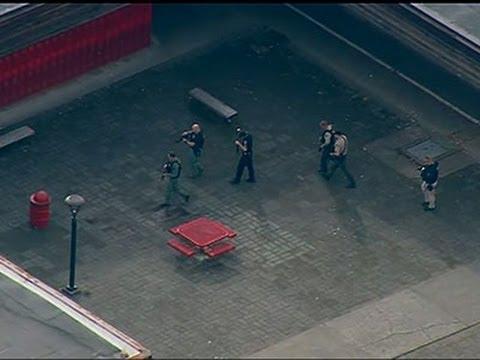 Raw- School Shooting Reported in Washington News Video