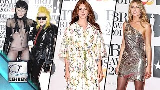 'Brit Awards 2016' WORST DRESSED Celebs | Lana Del Rey, Abbey Clancy