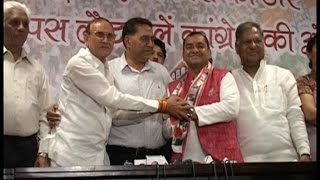 एमसीडी चुनाव - गोविंदपुरी से बीजेपी पार्षद चंद्रप्रकाश कांग्रेस में हुए शामिल