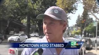 'Hometown Hero' Spencer Stone stabbed 3 times in torso