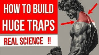"""SCIENCE of GETTING """" HUGE TRAPS """"  (5 Best Exercises for BIGGER TRAPEZIUS)"""