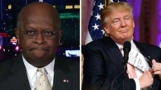 Herman Cain on Donald Trump vs. the GOP establishment