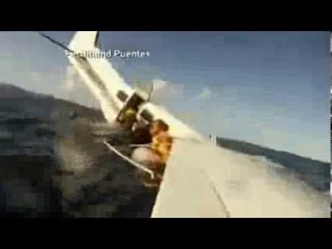 Passenger Films as Plane Crashes Into Ocean News Video