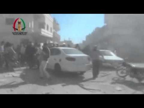 Raw- Stepped Up Attacks in Syria News Video