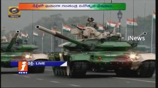 Military Display Weapons On 68th Republic Day Parade In Delhi | iNews