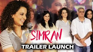 Simran Trailer Launch | Full HD Video | Kangana Ranaut