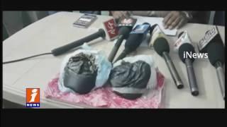 Excise Officers Seized 6 Lakhs Opium | 2 Members Held | Patancheru | iNews