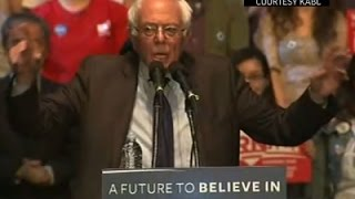 Sanders Sets His Sights on a California Win News Video
