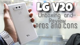 Lg V20 Unboxing and review Indian Variant, Pros and Cons, Camera Samples and Much More!!