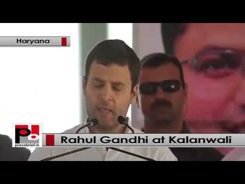 Rahul Gandhi strikes chord with farmers at Kalanwali, Haryana