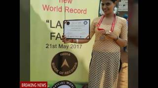 Gulshan Sharma & Her Mom Won Women Of World Award 2017