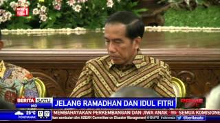 Presiden Jokowi Minta BPS Sebagai Pusat Data