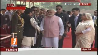 Bangladesh Prime Minister Sheikh Hasina Tour in India | Meeting With Modi in Delhi | iNews