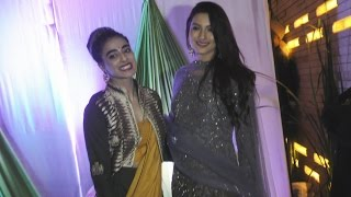 Gauahar Khan & Bani J At Mandana Karimi‏'s Wedding Bash