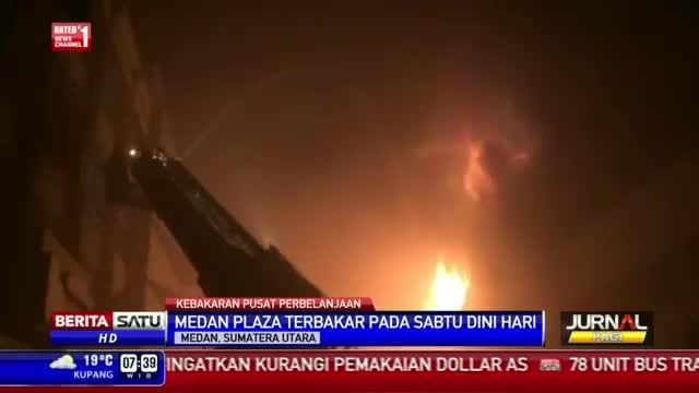Medan Plaza Terbakar Lagi