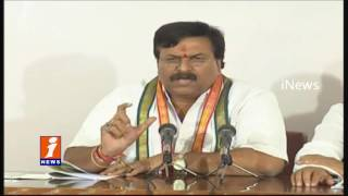 Congress MLC Ponguleti Sudhakar Reddy Allegations On KCR | iNews