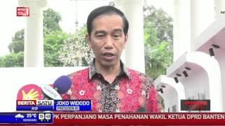 Jokowi Minta Publik Beri Kesempatan Pimpinan KPK Baru Bekerja