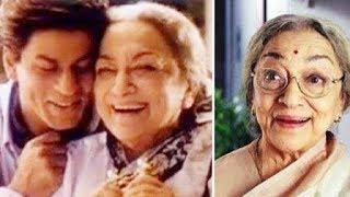 Shahrukh Khan Dadi Ava Mukherjee Passes Away At 88 | Devdas Movie