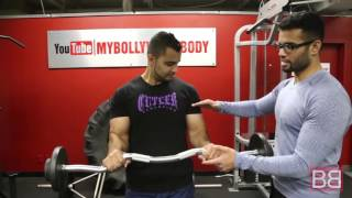 "How to- Make your ARMS look BIGGER and defined! ""Pronated Curls""  (Hindi / Punjabi)"