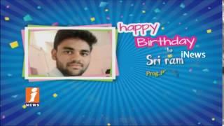 Birthday Wishes To Sri Ram Prog Producer From iNews Team