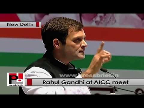 Rahul Gandhi- Congress is not just a party, but a vision, an ideology, deep rooted in people hearts