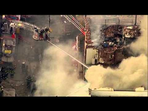 Raw- NYC Building Explodes, Injuries Reported News Video