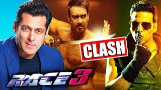 Salman Khan's RACE 3 First Look Release Date, Ajay Devgn Vs Akshay Kumar In 2019