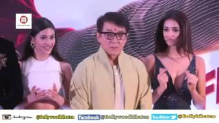 Jackie Chan in Mumbai Promotes 'Kung Fu Yoga' With co-Stars Sonu Sood, Disha Patani & Amyra Dastur