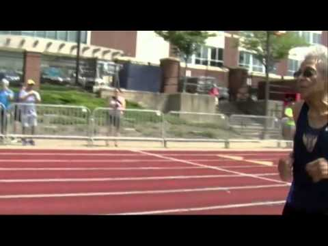 99-year-old Sprinter Steals Show at Gay Games - News Video