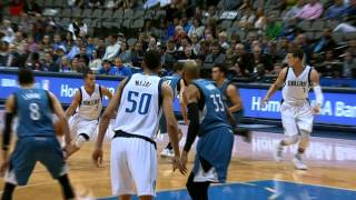 Dwight Powell Throws Down the Hammer!