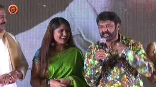 Balayya Sings at Paisa Vasool Movie Audio Success Meet Balakrishna, Shriya, Puri Jagannadh