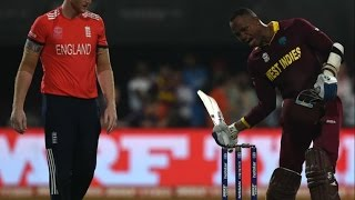 World T20- Marlon Samuels Fined For Breaching ICC Code of Conduct - Sports News Video