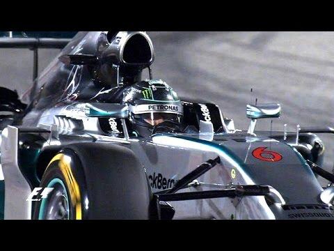 Lewis Hamilton beaten by Nico Rosberg in Bahrain GP practice News Video