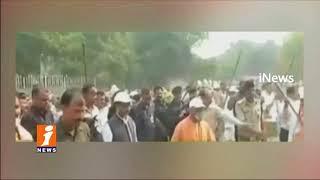 UP CM Yogi Aditya Nath Participate Swachh Bharat Program At Taj mahal In Agra | iNews