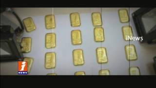 Gold Smuggling Rise In Rajiv Gandhi International Airport in Shamshabad   Hyderabad   iNews