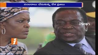 Robert Mugabe Resign As Zimbabwe President   People Celebration on Roads   iNews